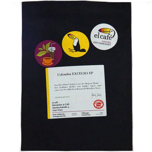Kaffee Colombia Excelso