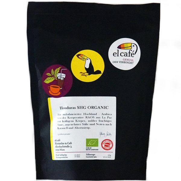 Kaffee Honduras SHG Organic