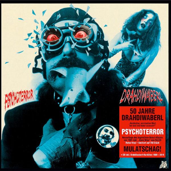 Drahdiwaberl Psychoterror Rotes Vinyl