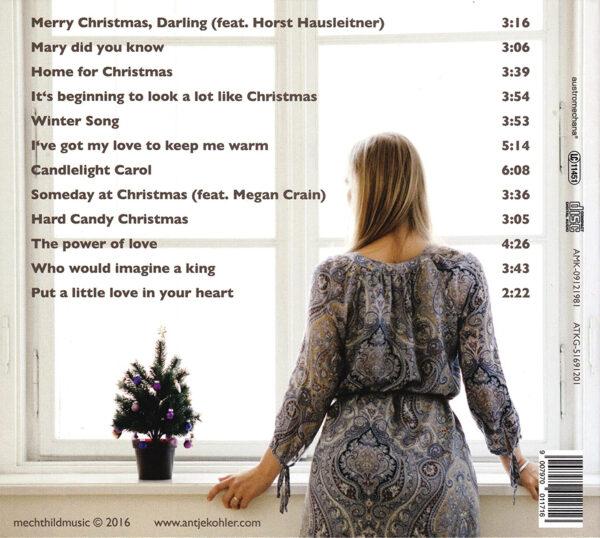 Antje Kohler CD Rückseite