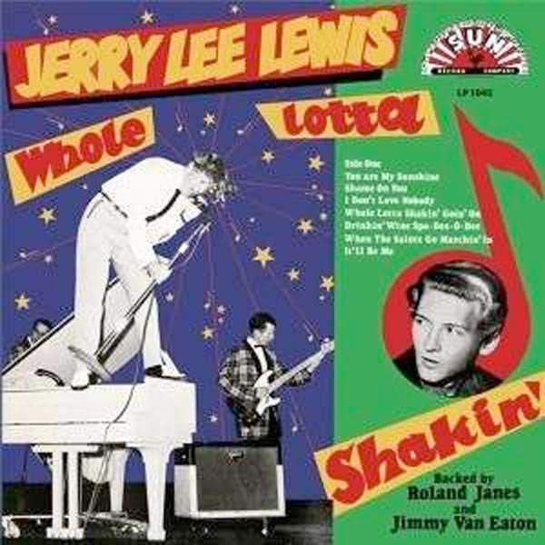 Jerry Lee Lewis Sun LP