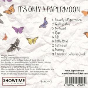 Papermoon CD Tracklist