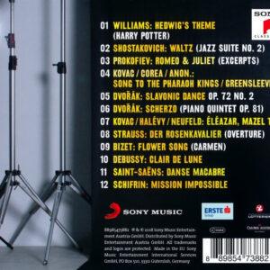 Philharmonic Five Tracklisting