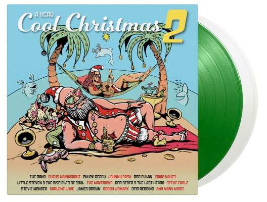 A very cool Christmas 2 green Vinyl