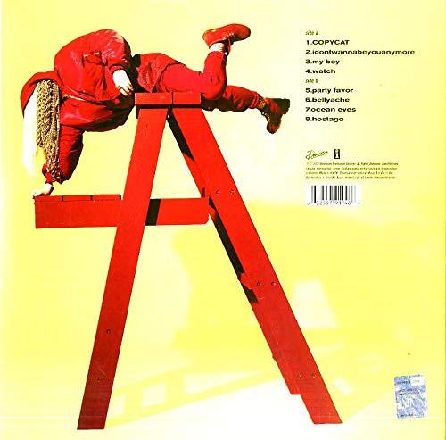 Billie Eilish Red Vinyl Rückseite