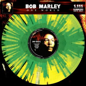Bob Marley One World Splatter Vinyl