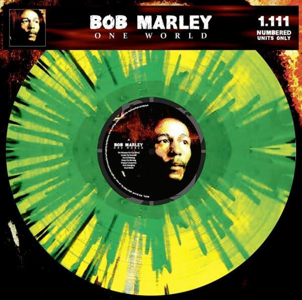 Bob Marley One World Splatter Vinyl
