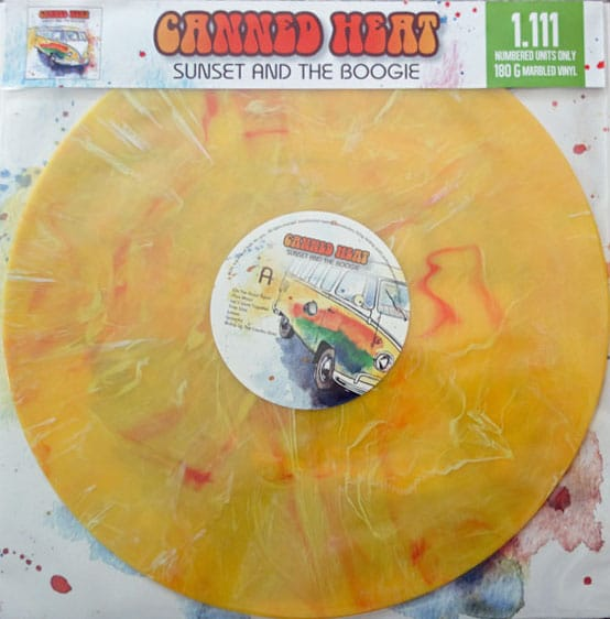 Canned Heat Sunset and the Boogie Vinyl