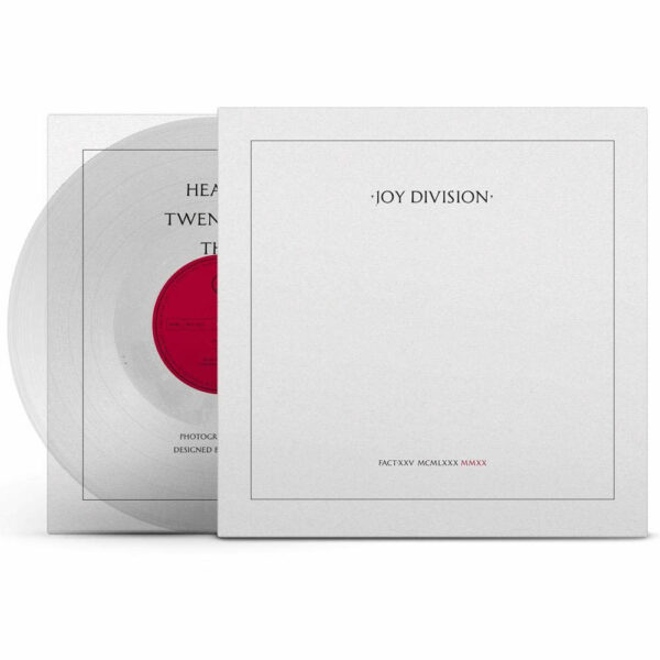 Joy Division Vinyl Rückseite