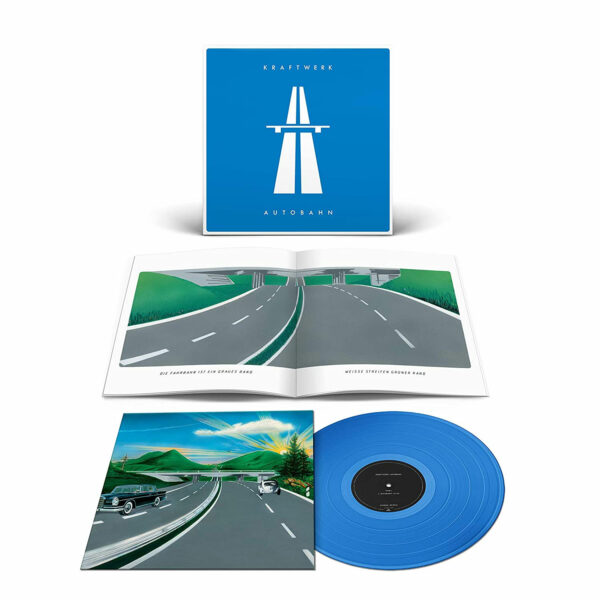 Kraftwerk Autobahn Blue Vinyl