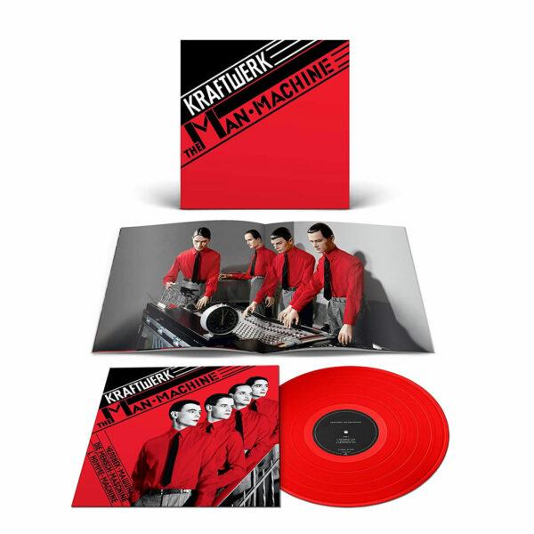 Kraftwerk The Man-Machine red Vinyl