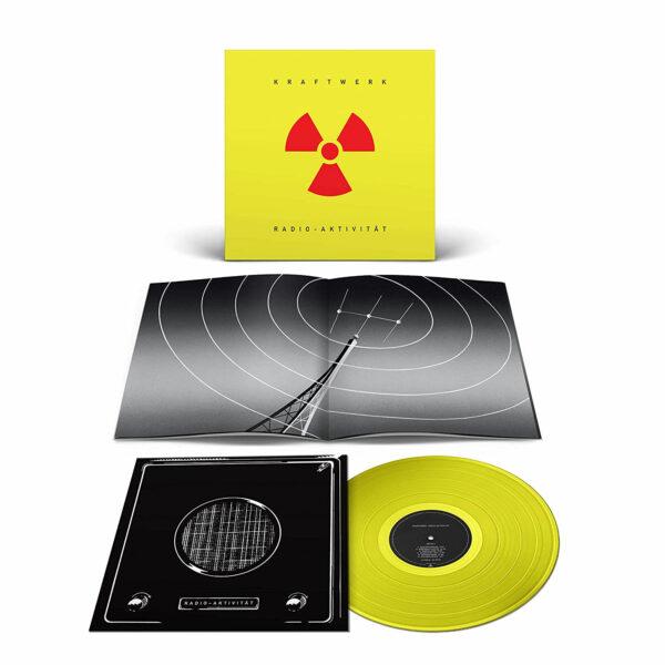 Kraftwerk Radio Activity Yellow Vinyl