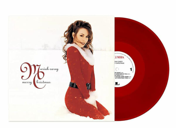 Mariah Carey red Vinyl