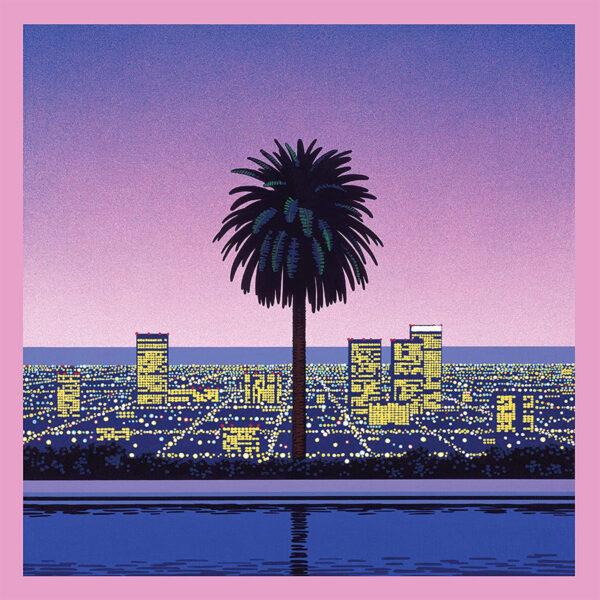Japanese City Pop Pink Vinyl