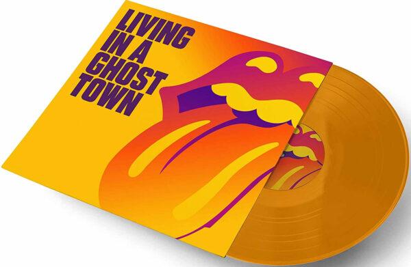 Rolling Stones Orange Vinyl