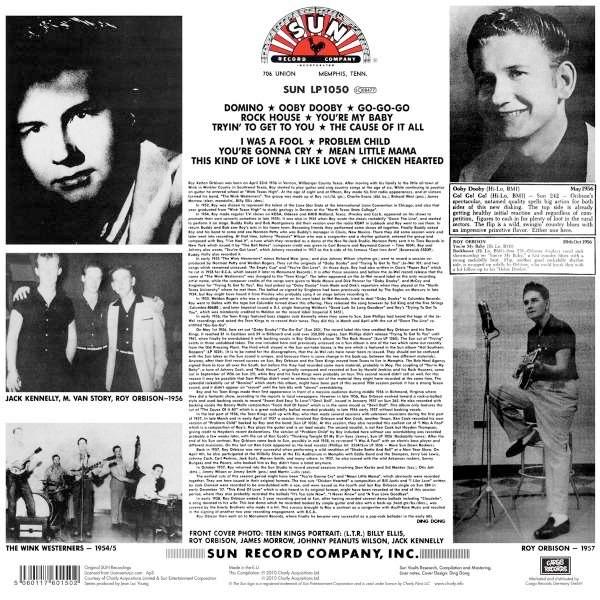 Roy Orbison LP Tracklisting
