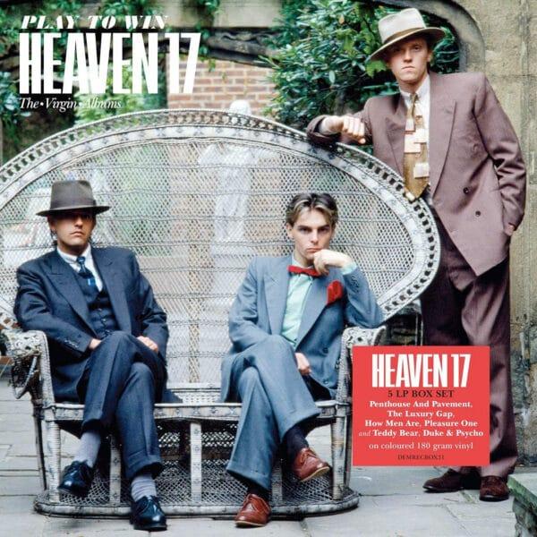 Heaven 17 Play to win Vinyl Box