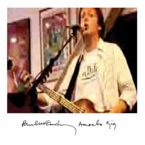 Paul McCartney Amoeba Gig Vinyl