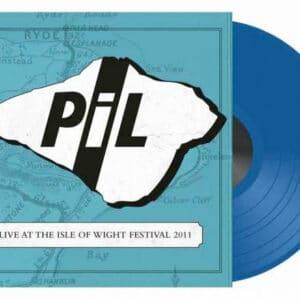 P.I.L. auf blauem Vinyl