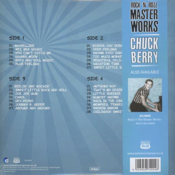 Chuck Berry Rock'n'Roll Master Works Rückseite