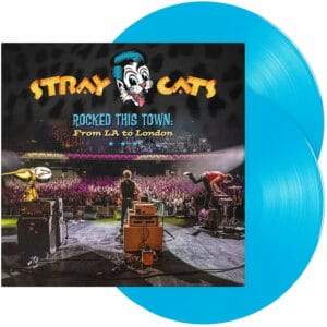 Stray Cats Rocked this Town Blue Vinyl