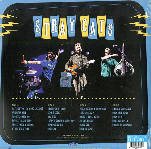 Stray Cats Rocked this Town Rückseite