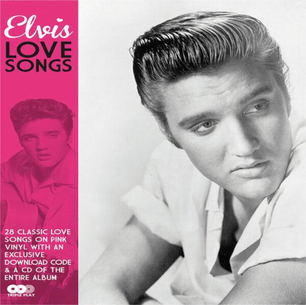 Elvis Presley Love Songs Pink Vinyl