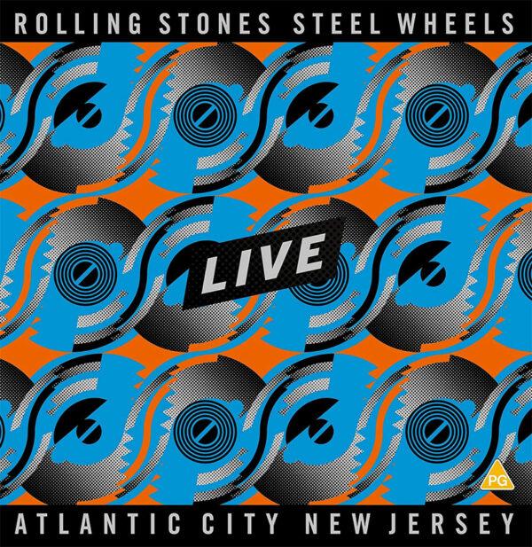 Rolling Stones Steel Wheels Live Vinyl